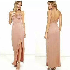 NBD • Daisy Pink Maxi Dress